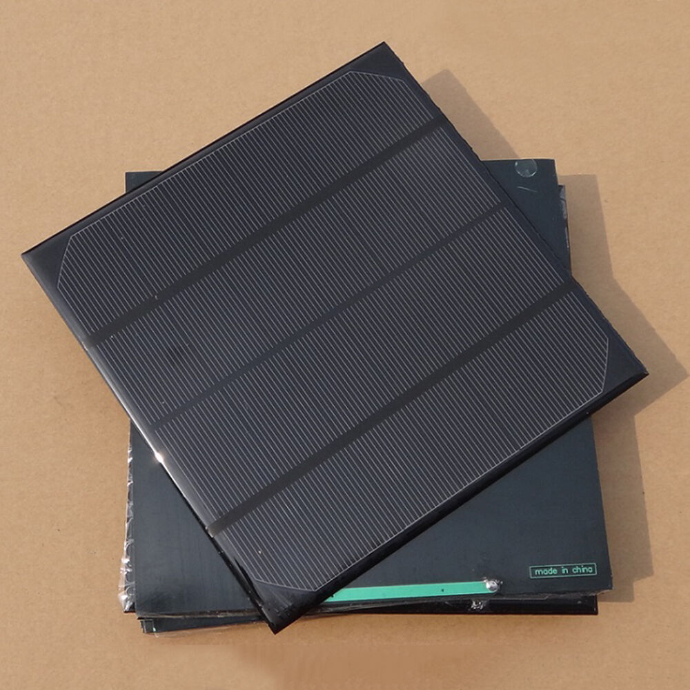 4 5w Watts Solar Panel Poly 6v Volt For Small Cell Charger