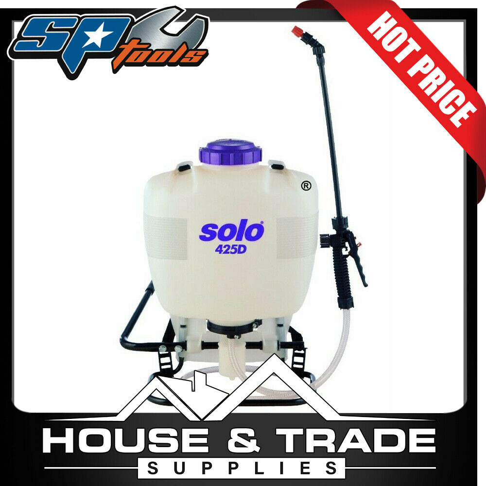 how to use a solo backpack sprayer