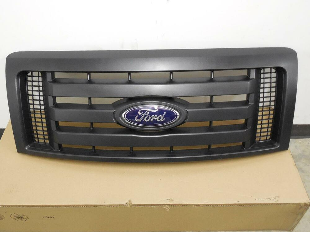 2009 2010 2011 2012 Ford F150 Black Grille Grill New OEM ...
