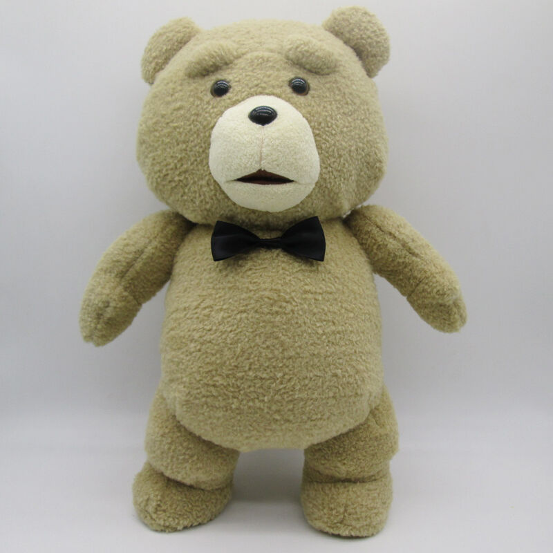 Toys For Ted : Cute ted the bear plush doll soft toys movie