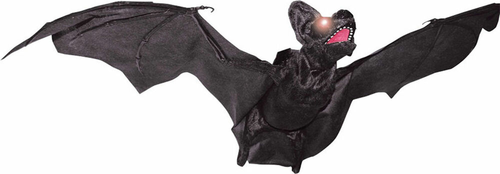 Morris costumes realistic animated flying bat props for Animated flying bat decoration