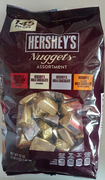 52oz Hershey's Nuggets Assortment Party Candy:Creamy Milk ...