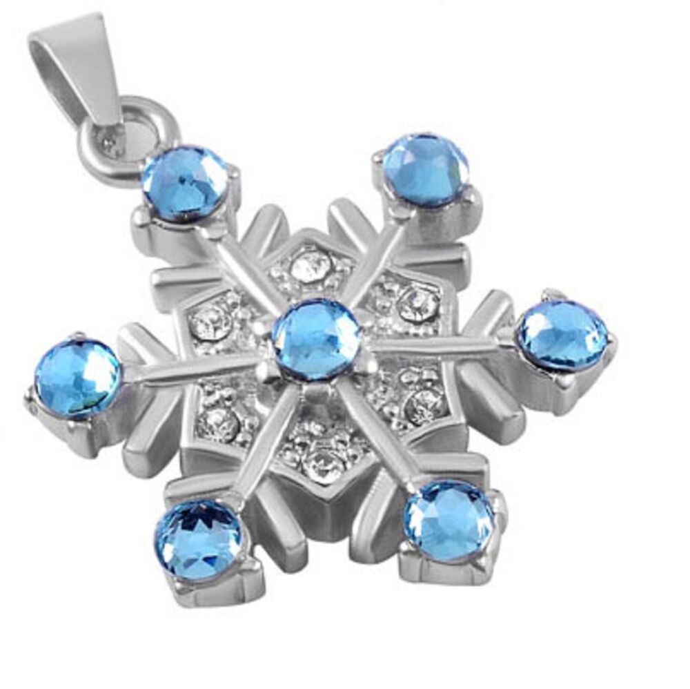 stainless steel snowflake cremation pendant urn jewelry. Black Bedroom Furniture Sets. Home Design Ideas
