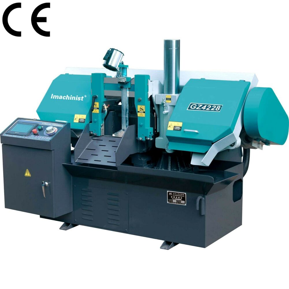 metal cutting saw horizontal automatic cnc metal cutting band saw machine 10719