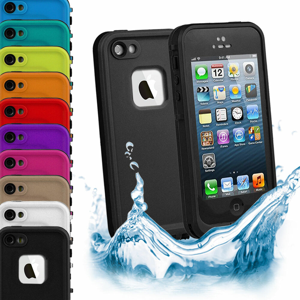 waterproof cases for iphone 5s waterproof shockproof dirtproof heavy duty cover 1211