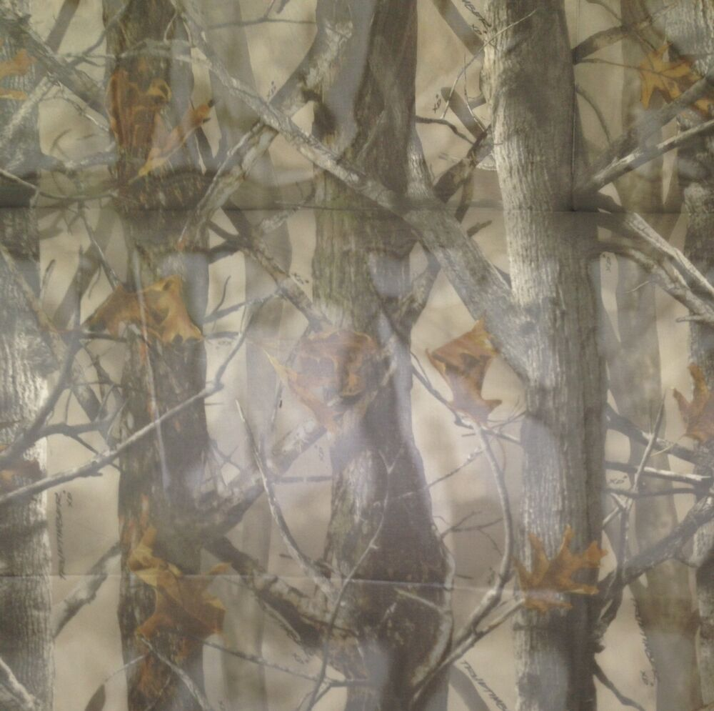 True Timber Xd3 Sheer Duck Blind Curtain Camo Polyester Fabric By Yard 57 W Ebay