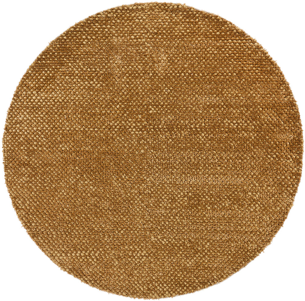 8 39 round chandra rug strata hand woven contemporary wool for Where to buy round rugs
