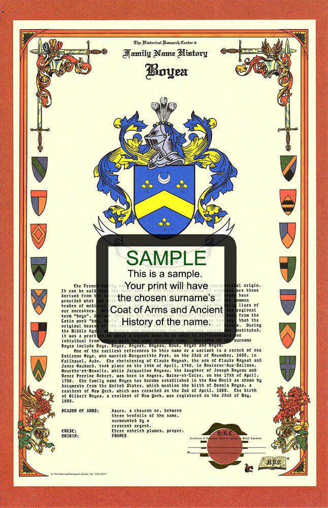 A's CELEBRATION Armorial Name History Coat of Arms Family ...