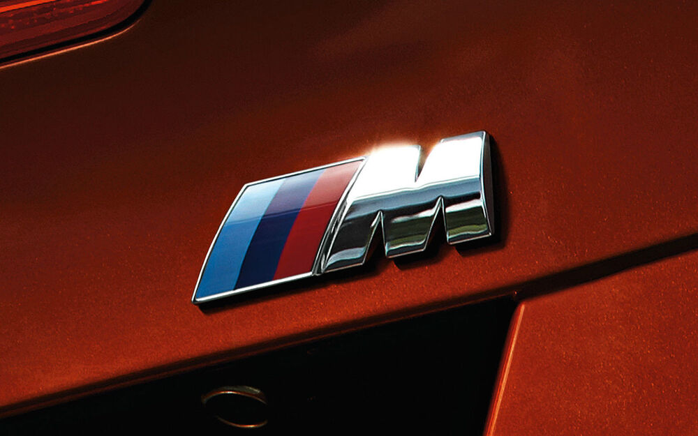Oz Stock Bmw M Power Emblem Badge Logo Sticker M3 E36