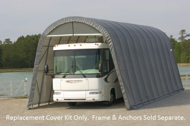 Portable Garages At Menards : Shelterlogic replacement cover kit for menards