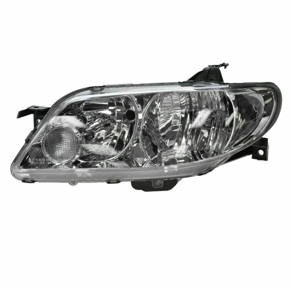 2002 2003 mazda protege 5 hb headlight head lamp aluminum. Black Bedroom Furniture Sets. Home Design Ideas