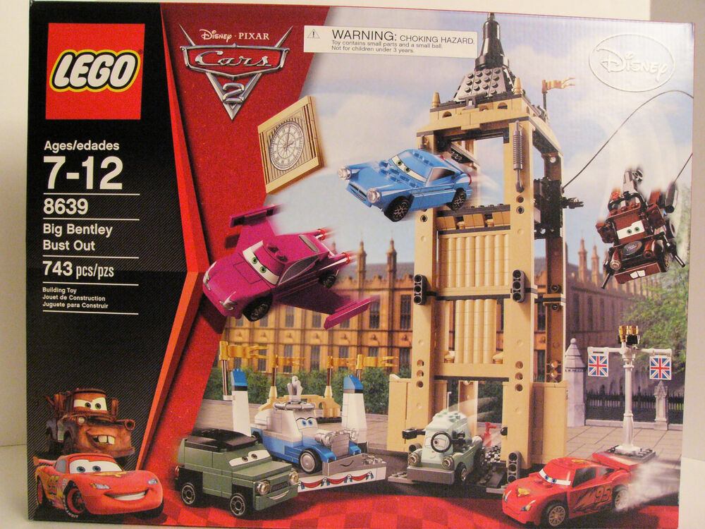 LEGO 8639, Disney's Cars 2, Big Bentley Bust Out, NEW And