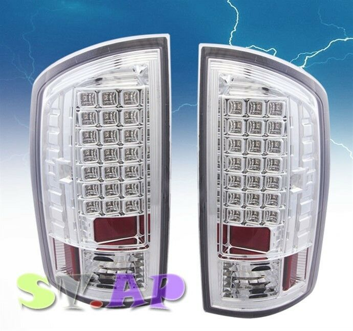 2007 2008 dodge ram 1500 2500 3500 tail light led signal lamp 2pc. Black Bedroom Furniture Sets. Home Design Ideas