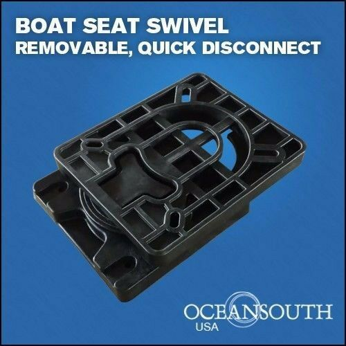 Boat Seat Swivel Removable For Quick And Easy Release