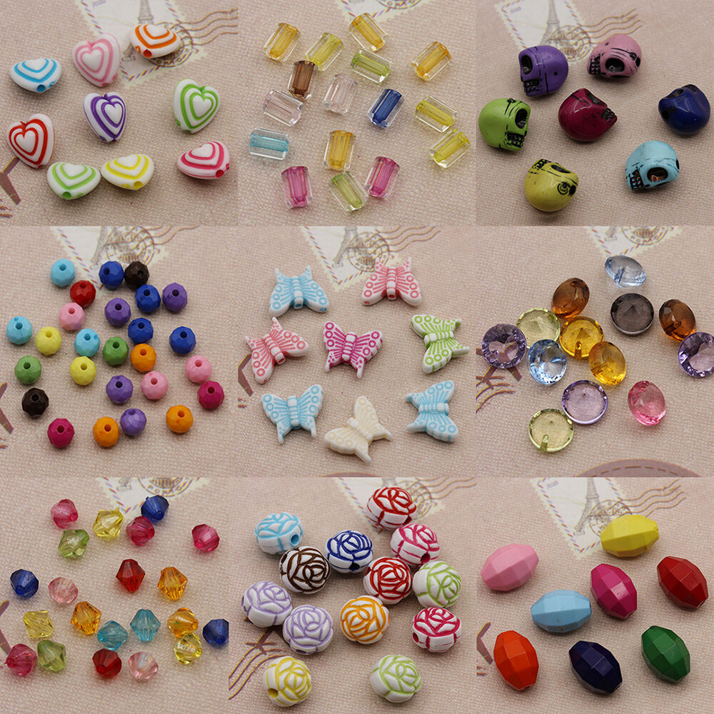 Frosted acrylic love heart charm beads pendant mixed color for Plexiglass arts and crafts