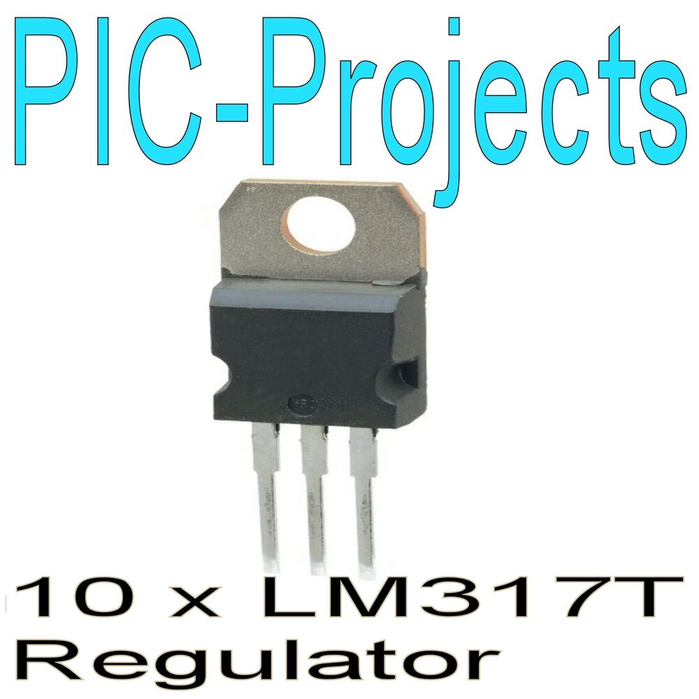 10 X Lm317t Lm317 Variable Voltage Regulator 15a Amp Ebay Want To Present Is Constructed Using The Integrated Circuit