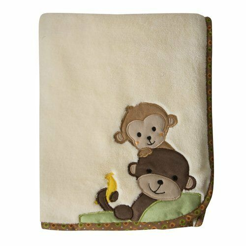 Lambs and ivy echo bedding - Curly Tails Baby Blanket Monkey Lambs Amp Ivy Bedtime