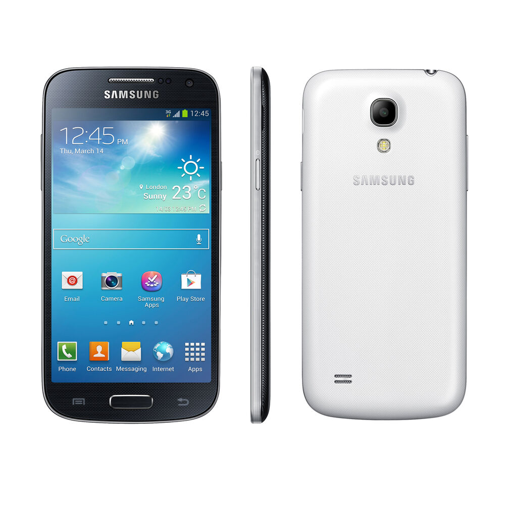 new samsung galaxy s4 mini gt i9195 8gb 8mp 4g lte. Black Bedroom Furniture Sets. Home Design Ideas