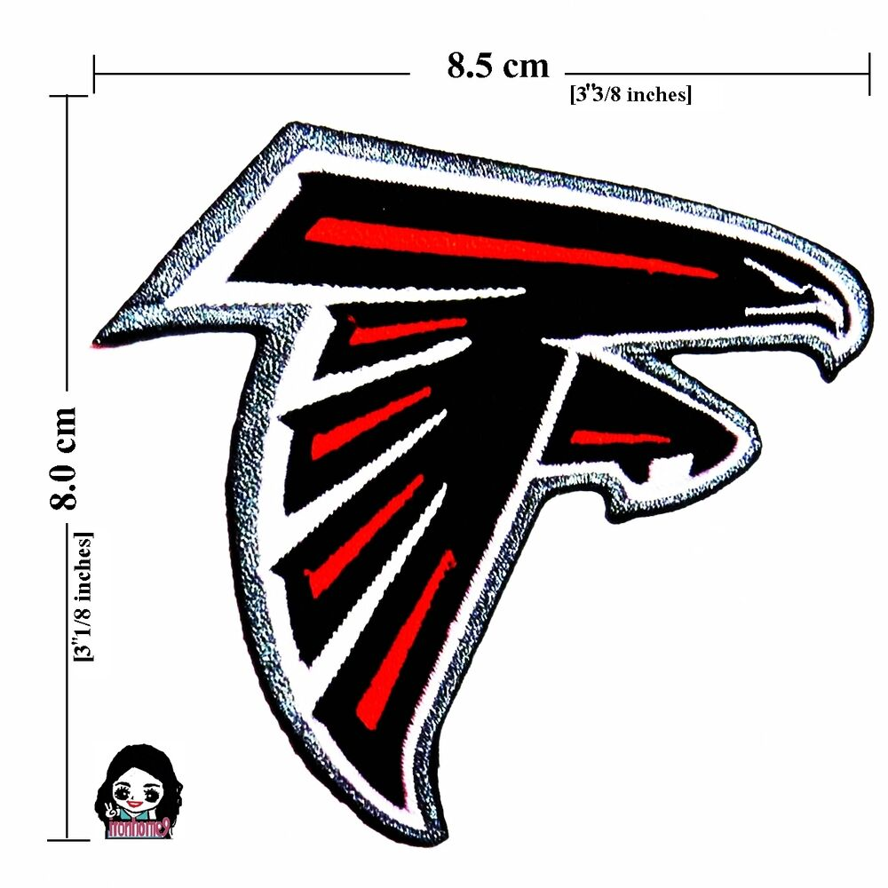 Atlanta falcons nfl sport logo embroidery iron sewing