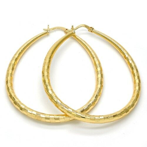 Girl gold earrings hoops for women