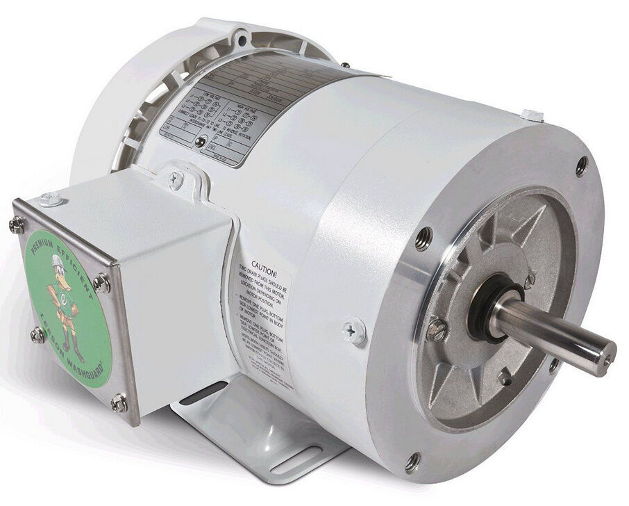 Leeson electric motor c6t17wk12k 2 hp 1725 rpm 3 for Dc motor 1 3 hp