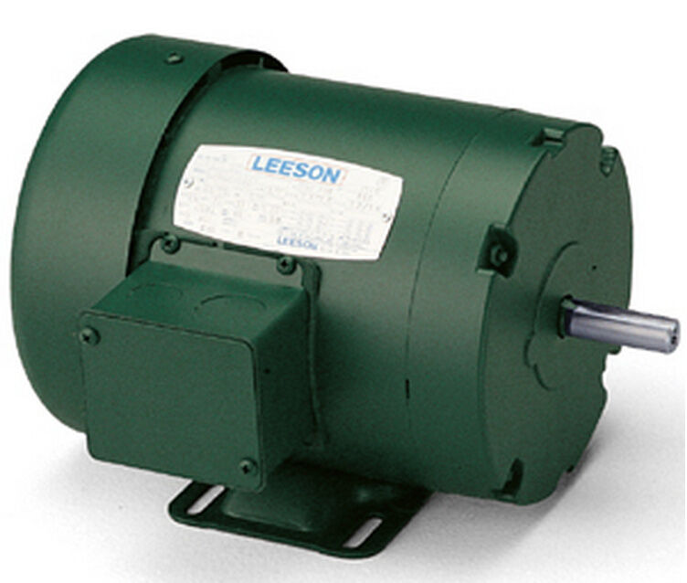 Leeson electric motor c145t17fb98a 1 5 hp 1750 for 1 5 hp electric motor
