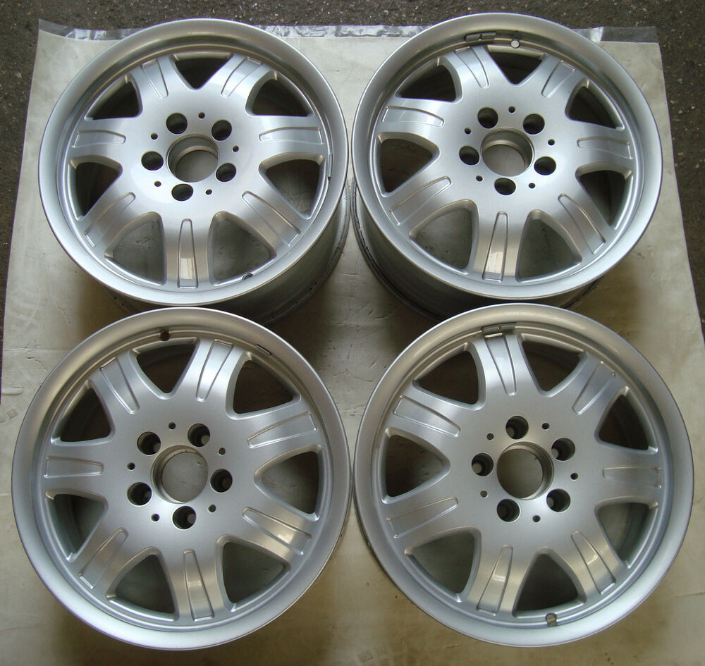4 mercedes benz alloy wheel rim 7j x 16 et34 mercedes w171 for Mercedes benz mag wheels