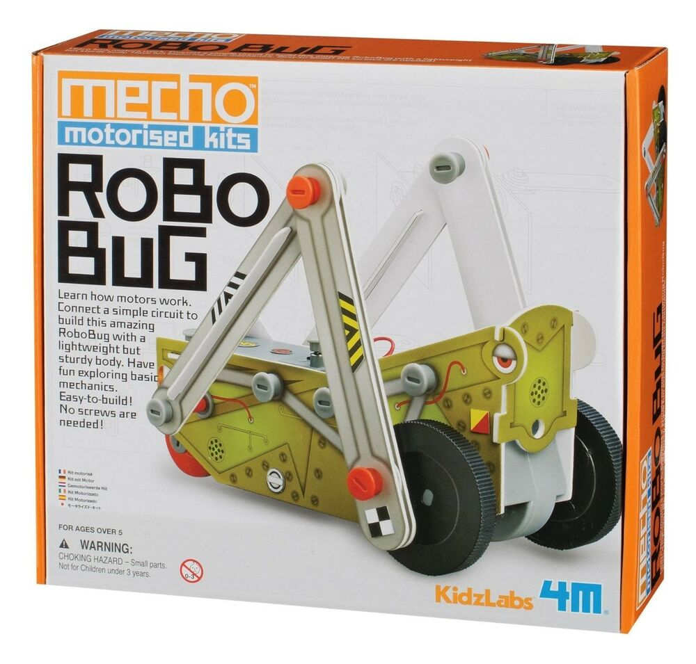 Mecho Motorised Robo Bug Build Your Own Educational