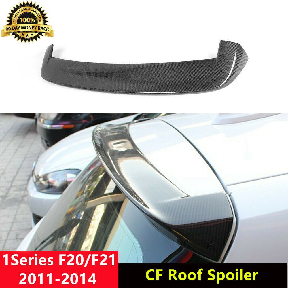 carbon fiber roof spoiler top wing for bmw f20 125i 128i. Black Bedroom Furniture Sets. Home Design Ideas
