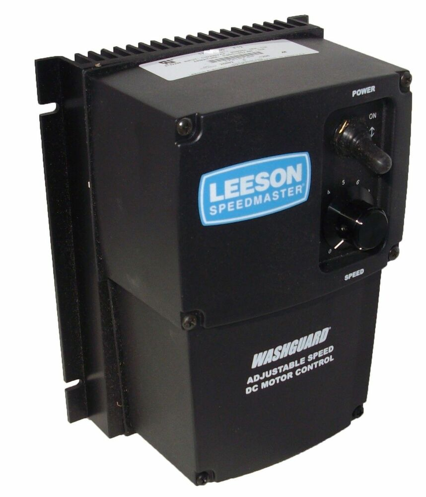 Leeson electric 90 volt dc 180 v dc scr motor for Motor with speed control
