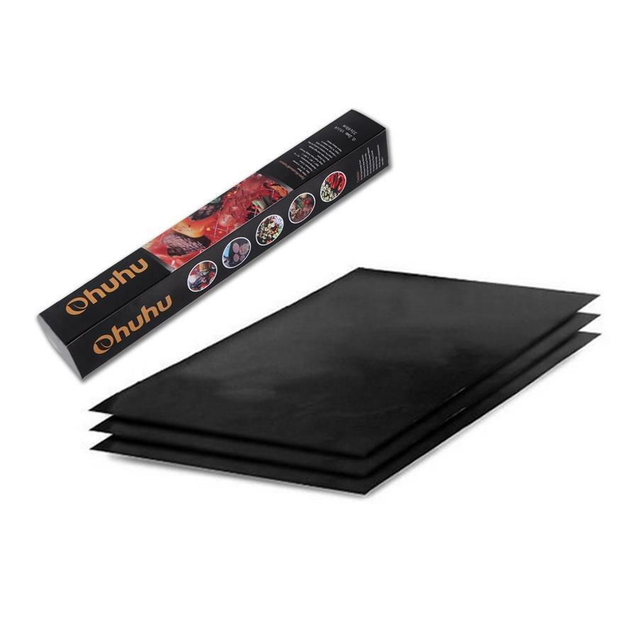 Ohuhu Non-stick BBQ Grill Mat Barbecue Baking Surface Hot