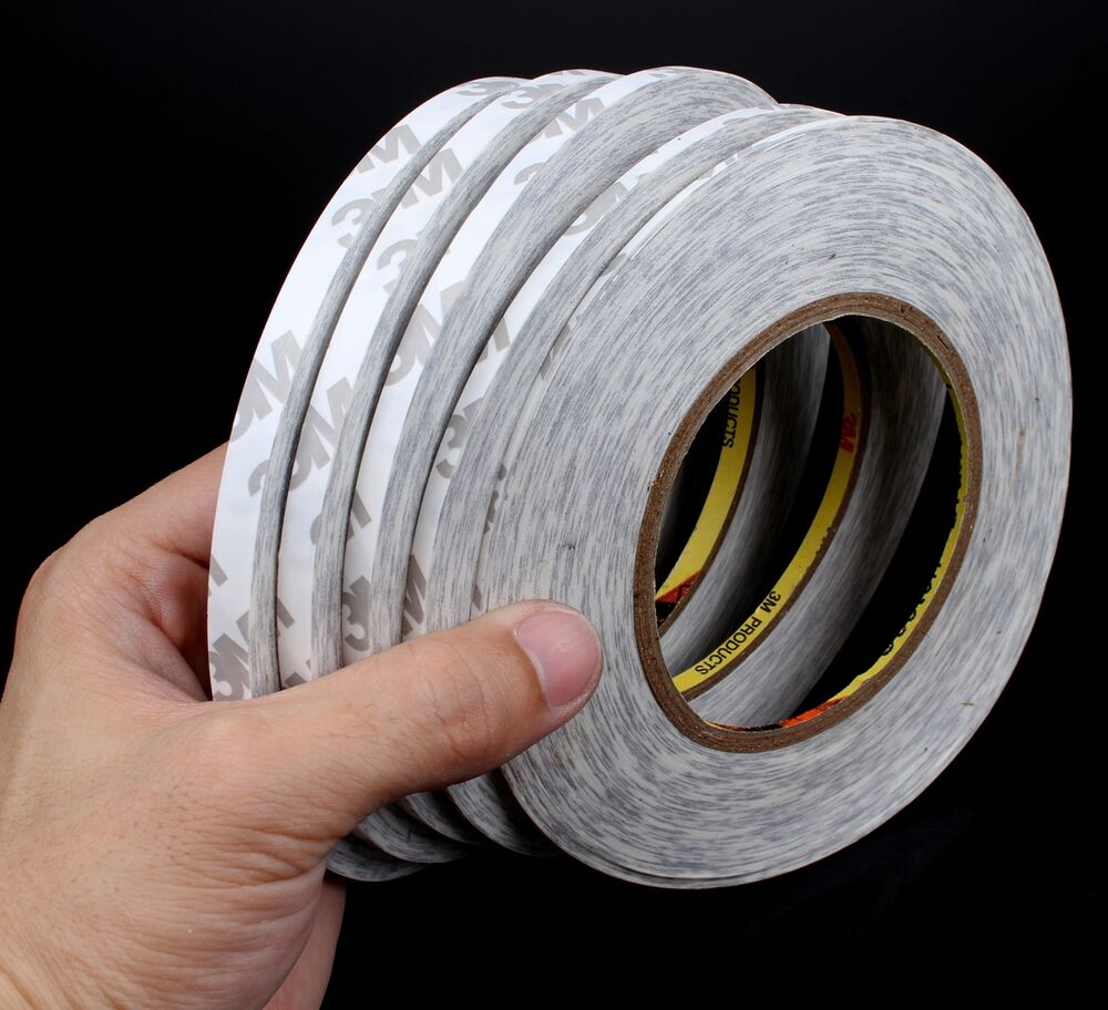 50M 2mm 8mm Strong Double Sided Adhesive Tape Sticky for Cellphone Screen LCD | eBay
