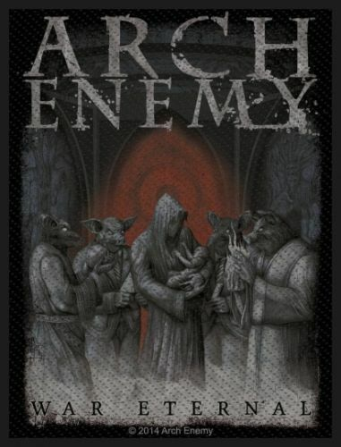 arch enemy war eternal patch aufn her death heavy metal. Black Bedroom Furniture Sets. Home Design Ideas
