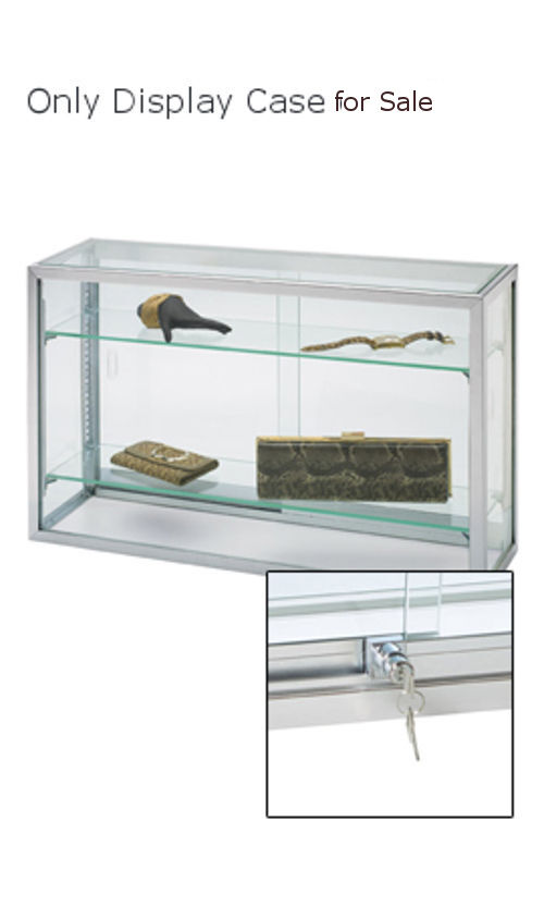 New Retail Upright Glass Countertop watch Jewelry Display Case 18