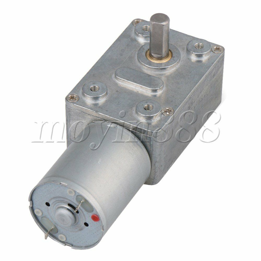 12v 260rpm High Torque Drive Pmdc Worm Right Angle Geared