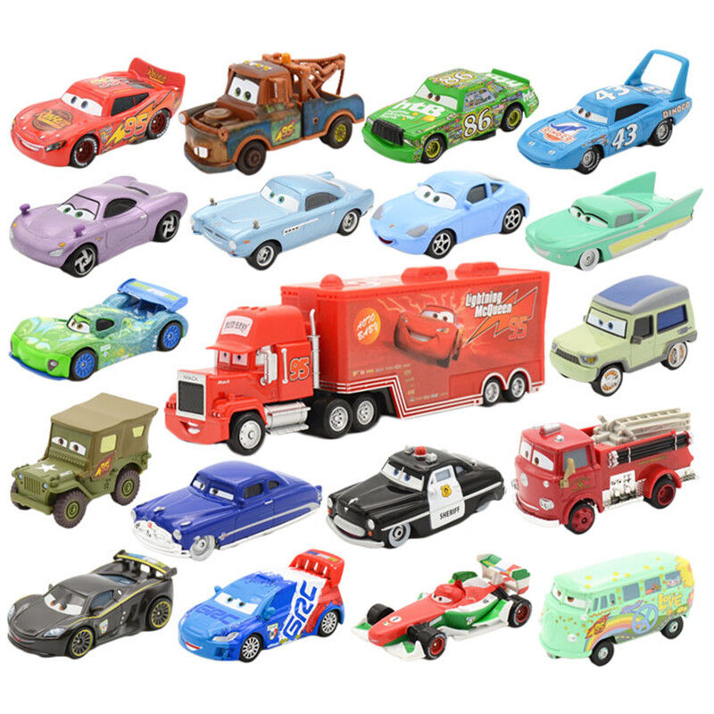 Cars 1 And 2 Toys : New original disney pixar diecast cars metal no
