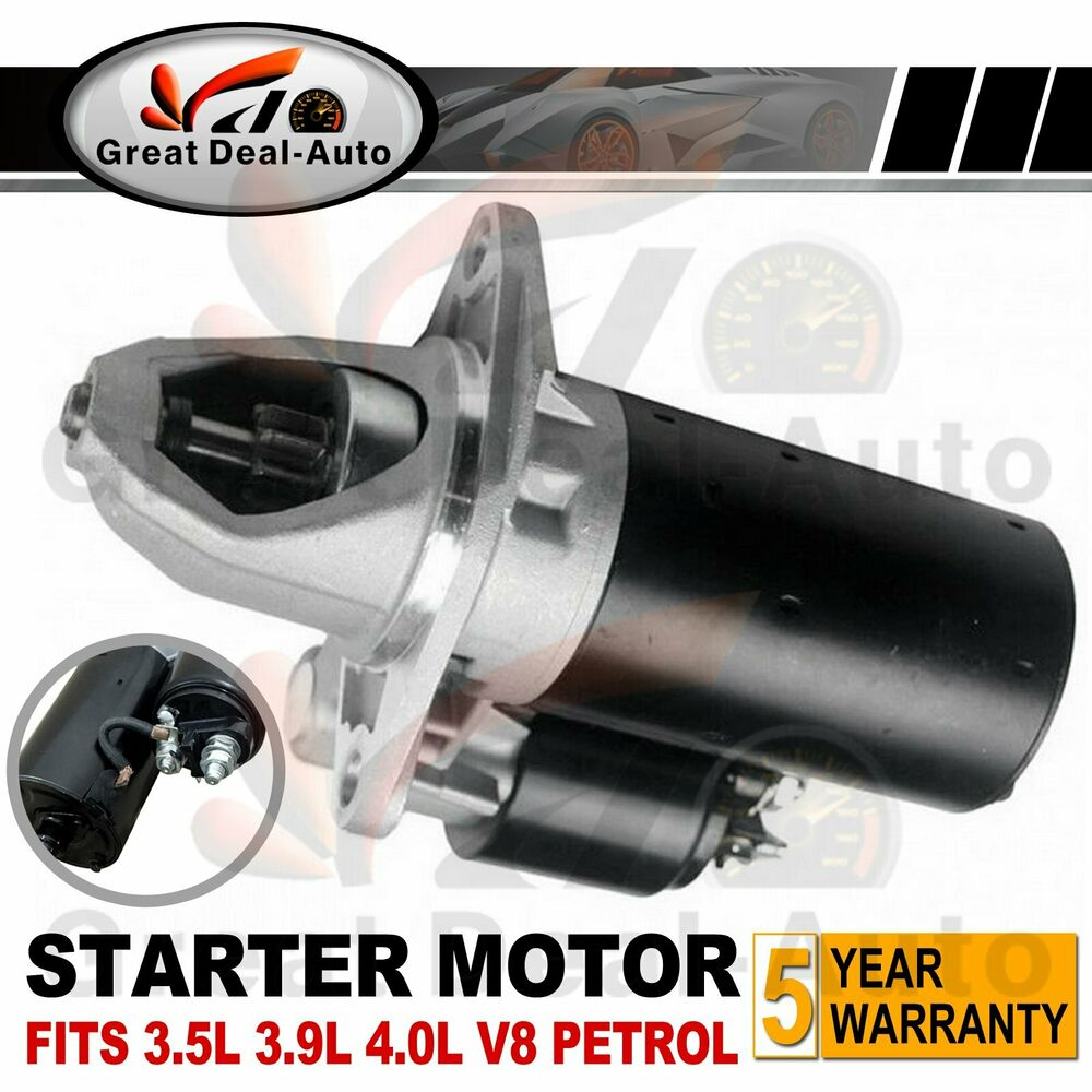 Fits LandRover Starter Motor Range Rover Discovery 3.5L 3