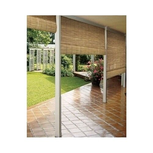 Bamboo Roll Up Blind Wood Outdoor Reed Roller Shades