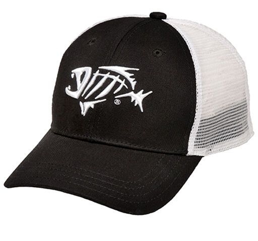 G loomis logo bandit tucker hat black white mesh fishing for Mesh fishing hats