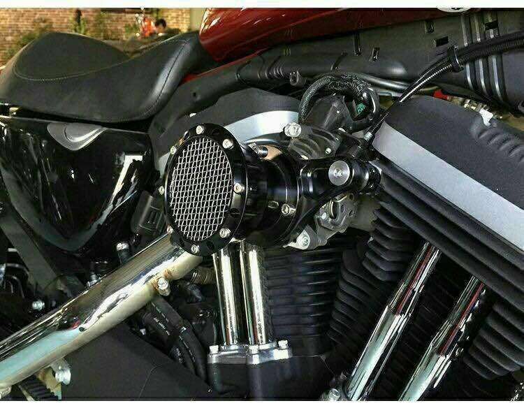 Volocity Stacks Chopper Air Cleaner : Velocity stack air cleaner filter for harley sportster xl
