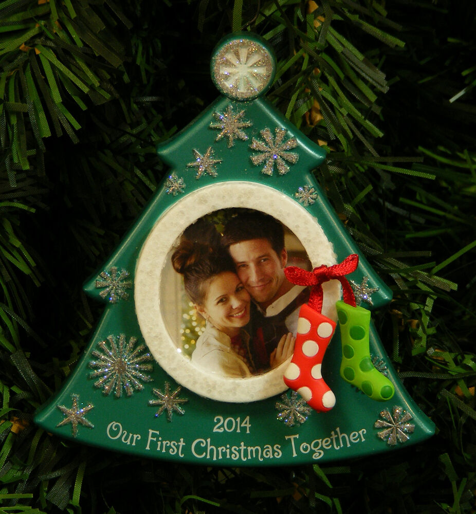 HALLMARK KEEPSAKE 2014 OUR FIRST CHRISTMAS TOGETHER PICTURE