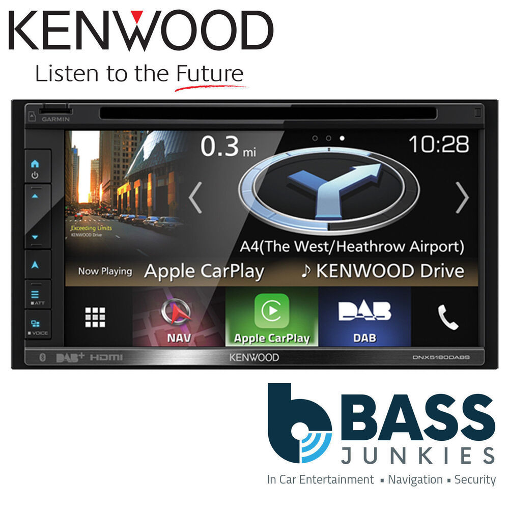 kenwood dnx 4150dab 6 1 double din navigation car sat nav. Black Bedroom Furniture Sets. Home Design Ideas