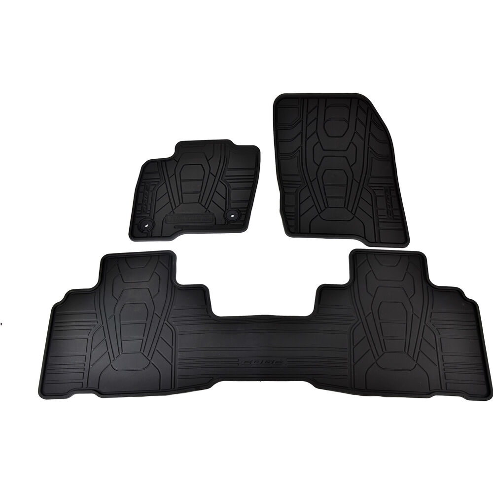 OEM NEW 2015-2017 Ford Edge Black Rubber All Weather Floor