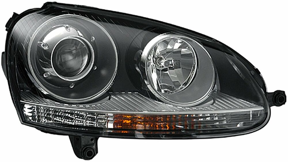 vw jetta sedangti  rabbit headlight headlamp xenon  passenger ebay