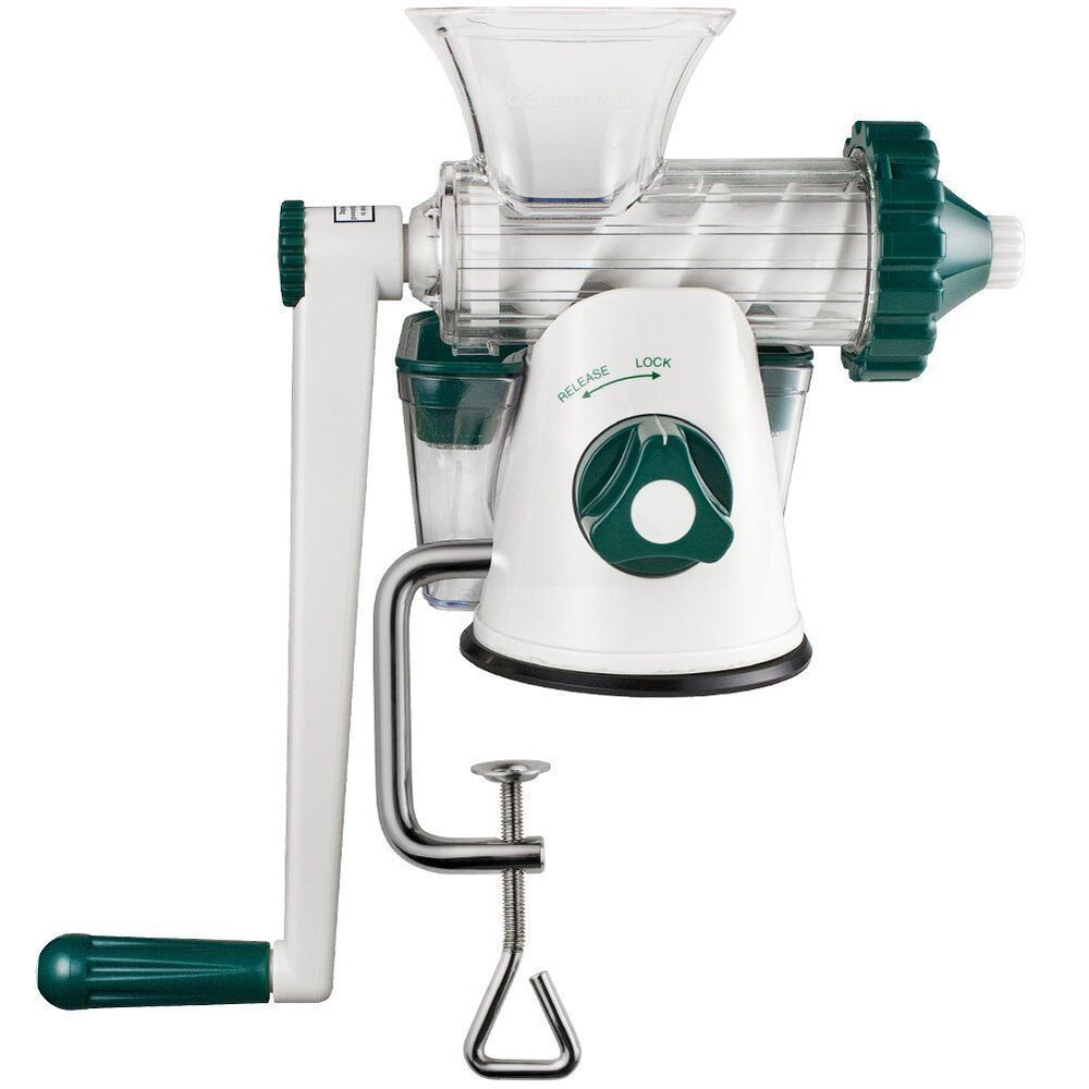 Cold Press Juicer For Leafy Greens : MANUAL WHEATGRASS JUICER - LEAFY GREEN JUICER - COLD PRESS JUICE eBay