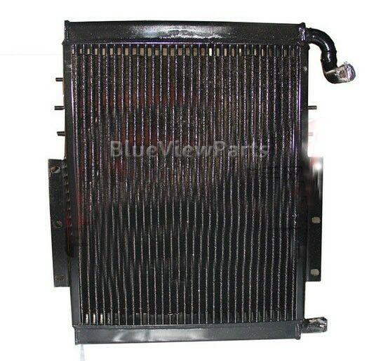 Oil Coolers For Hydraulic Systems : Hydraulic oil cooler radiator for hyundai r excavator