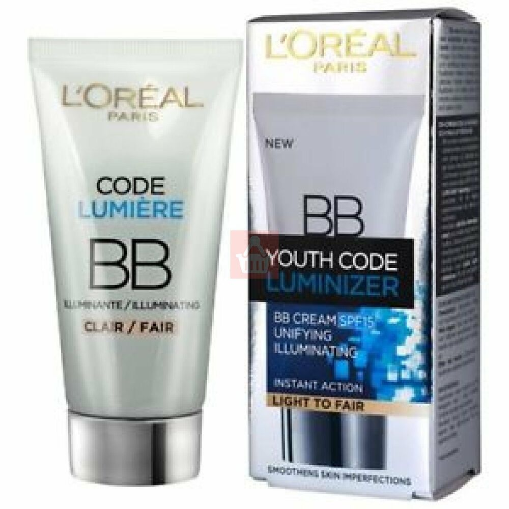 loreal youth code luminizer bb cream spf15 50ml light to. Black Bedroom Furniture Sets. Home Design Ideas