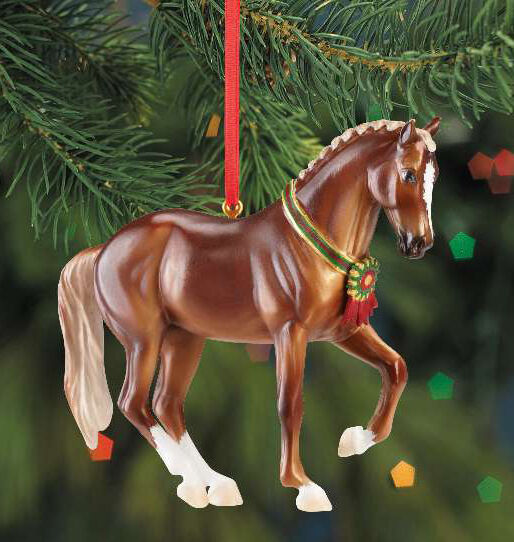 Breyer 700513 Warmblood Resin Holiday Horse Christmas ...