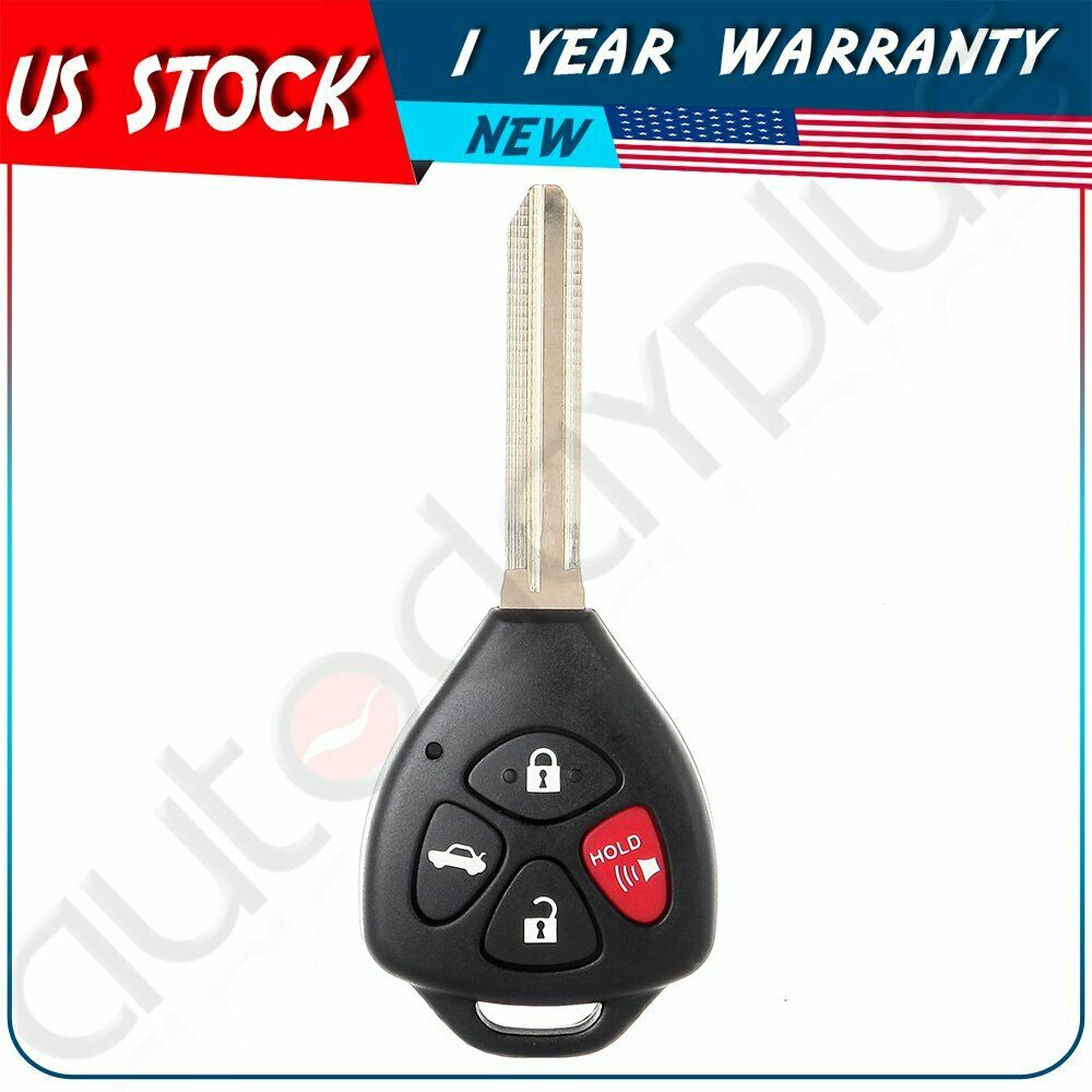 replacement ignition car key for toyota camry keyless entry remote fob uncut ebay. Black Bedroom Furniture Sets. Home Design Ideas