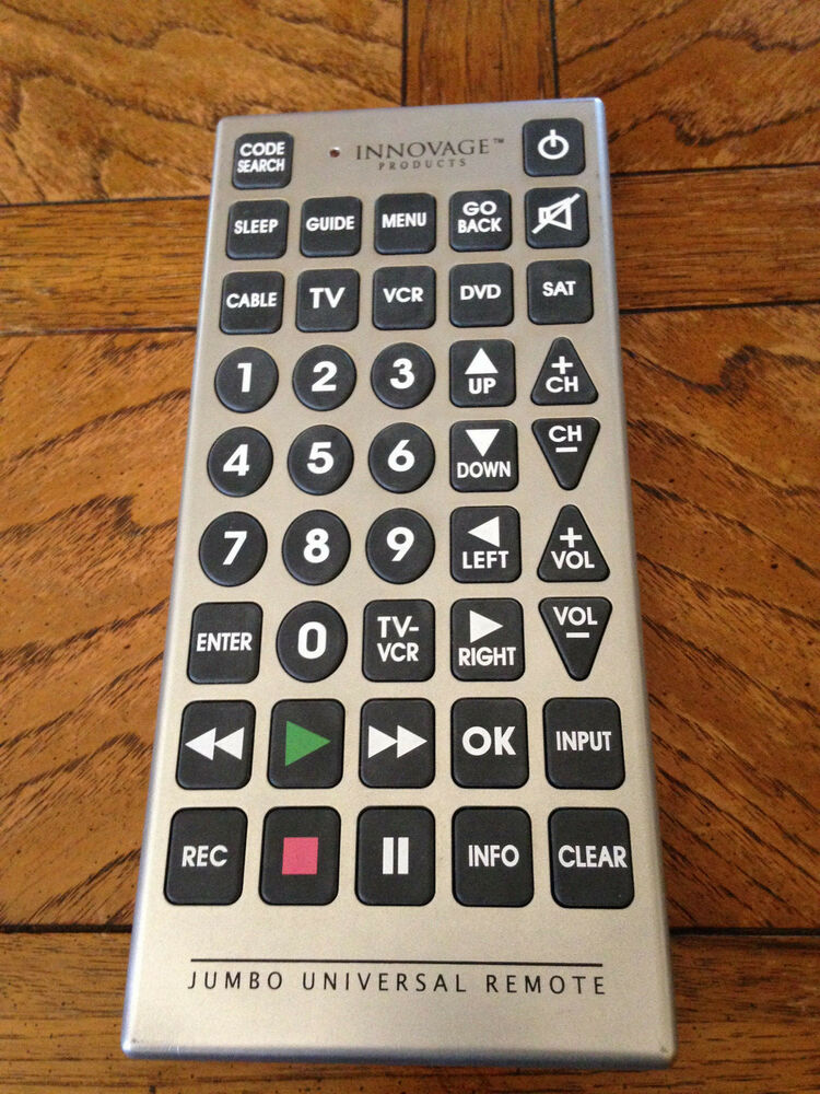 Jumbo Universal Remote Control Codes For Dvd  Universal